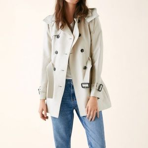 Zara Tailored Trench Coat